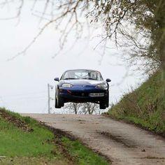 "topmiata: ""Frank Balduf's Rally Miata from #Germany / check his FB page: Rallye Miata | #TopMiata #mazda #miata #mx5 #eunos #roadster #rallymiata #rally"""