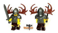 Custom LEGO Helmet Spotlight - Viking Helmet #LEGO #BrickWarriors #Minifigure #Viking #Norse #Nordic #LeifEriksson #History #LEGOhelmet #LEGOaccessories #MinifigureAccessories