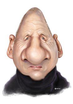 Mark Knopfler   Dire Straits   Caricature   Illustration