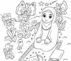 Coloring For Kids, Coloring Pages For Kids, Coloring Books, Ramadan Activities, Activities For Kids, Islamic Art, Islamic Studies, Islam For Kids, Ramadan Decorations