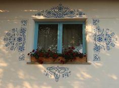 Letné parádenie príbytkov - Maľované okno / amalia » SAShE.sk - slovenský handmade dizajn