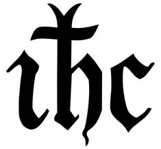 IHC-monogram-Jesus-medievalesque - Christogram - Wikipedia, the free encyclopedia