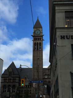 The historical Toronto Municipal Building...