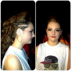 Katie o neill done the Hip hop style dance. Deirdre complement the hair with the theme. Dance Hairstyles, Braided Hairstyles, Dance Team Hair, Dance Costumes Kids, Waves Curls, Hip Hop Fashion, Dance Outfits, Hair Dos, Cut And Color