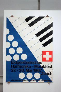 Harmonika-Musikfest 1967 Design: Kurt Huber Werbeagentur via insect54, on Flickr
