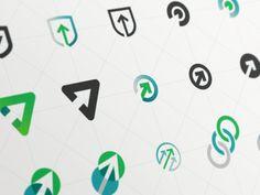 Cranking Up Some Ideas designed by Carlos Rocafort IV for Evernote Design. Web Design, Icon Design, Mountain Logos, Mountain View, Logistics Logo, Property Logo, Education Logo Design, Arrow Design, Home Logo