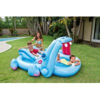 INTEX® Pool/Planschbecken - Playcenter Hippo - 221 x 188 x 86 cm