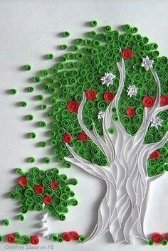 Tree quilling