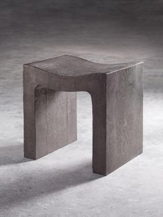 """BBC Boracay says: """" We like it because of the simple organic form. Nothing missing - nothing to ad..Concrete furniture."""""""