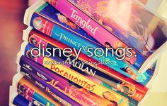 Some of my favorite childhood memories were singing to the VHS Disney sing along tapes with my best friend from elementary school!