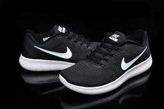 Nike Free RN 5.0 Mesh Black White