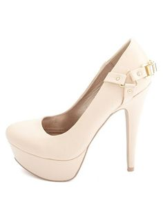 Chain Harness Platform Pumps: Charlotte Russe