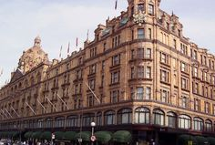 Harrods, the world's most famous department store, has been selling luxury goods from its Victorian building for more than 100 years