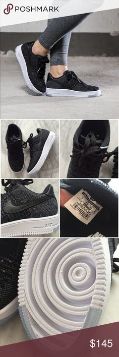on sale ead8b b83a4 Nike Air Force 1 Flyknit Low Sneakers •The Nike Air Force 1 Ultra Flyknit  Low