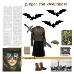 """Battle of the Books Bonus Round 2: Second Choice Gregor The Overlander"" by sunstarburst ❤ liked on Polyvore featuring Valentino, MICHAEL Michael Kors, SOREL, Stetson and Muji"