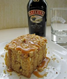 Baileys and White Chocolate Cake Recipe from Craving some Creativity