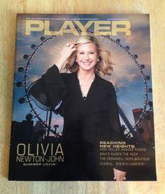 For Sale: VEGAS PLAYER MAGAZINE Summer/Fall 2014 - OLIVIA NEWTON-JOHN: SUMMER LOVIN' #ONJ #Vegas http://www.ebay.com/itm/281667677405