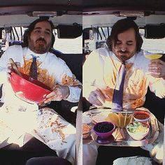 When your lunch is too good and you can't control yourself. #ImpracticalJokers