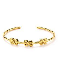 Gorjana Infinity Knot Cuff | Bloomingdale's
