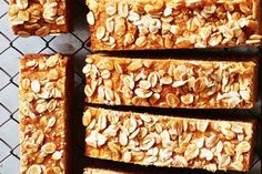 Try this banana, yoghurt and apple muffin slice for a mid-morning snack that will keep you going until lunch time. Apple Custard, Custard Cake, Healthy Lunches For Kids, Kids Meals, Healthy Treats, Baking Recipes, Dessert Recipes, Desserts, Oats Recipes