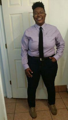 Busty In Uniform