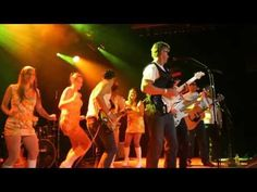 That's IREC's own rock star, Marc Roper on the axe @ the Solar Battle of the Bands.