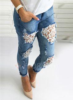 Pants & Leggings - $33.75 - Skinny Cotton Jeans Pants & Leggings (1745195265)