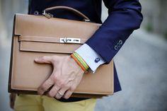 hermès kelly depeche briefcase on www.thethreef.com by Filippo Fiora