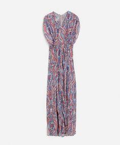 Vestido cachemire multicolor - OYSHO