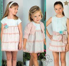 Blog moda infantil Dresses For Teens, Trendy Dresses, Outfits For Teens, Fall Outfits, Girls Fall Fashion, Cute Kids Fashion, Girl Fashion, Latest Clothing Trends, Moda Blog