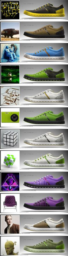 lifestyle shoes 01 on Behance