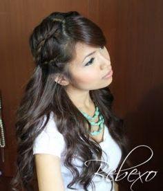 Boho Chic Lace Braid Hairstyle Tutorial · Bebexo Hairstyles & Beauty Blog