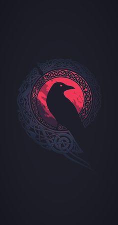 Norse Tattoo, Celtic Tattoos, Viking Tattoos, Viking Wallpaper, Glitch Wallpaper, Norse Pagan, Norse Mythology, Symbole Viking, Mythology Tattoos
