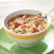 Cajun Chicken Vegetable Soup - This soup is simple and easy to make.