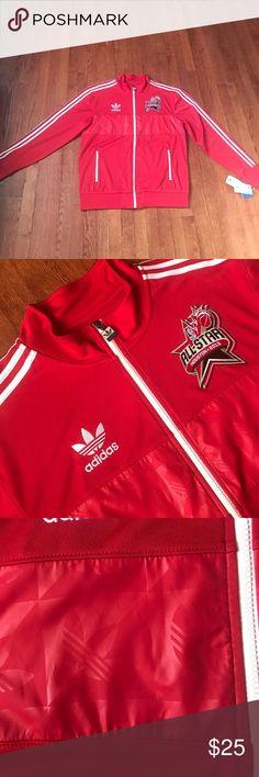 NWT Men's Off Adidas Track Jacket | NBA All Star NWT! Official track jacket from the NBA All Star Game from 2013. Never worn. Adidas Jackets & Coats Lightweight & Shirt Jackets