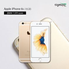 Buy Apple #iPhone6s 16GB in GOLD colour from tigmoo at the discountedprice of ZMW 7599  Order now for a #quickdelivery: https://www.tigmoo.com/apple-iphone-6s-16gb-gold.html