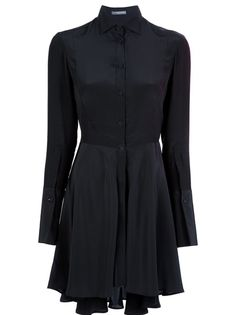 ALEXANDER MCQUEEN Silk Shirt Dress