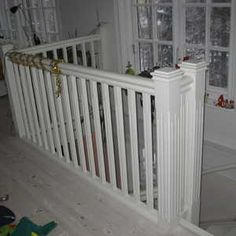 Skillingagrand-2011-029 Stair Railing, Stairs, New England Hus, Attic Rooms, House Goals, Plank, Cribs, Bed, Interior