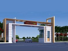 All information about Sree Sampada Homes Sampada Homes in Hyderabad residential project of Sree Sampada Homes development company: apartment prices, photos, map view and building details on the Korter. House Main Gates Design, Fence Gate Design, Front Gate Design, Wooden Main Door Design, 2 Storey House Design, Bungalow House Design, Entrance Design, House Front Design, Entrance Gates