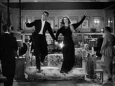 Cary Grant and Katharine Hepburn in Holiday.