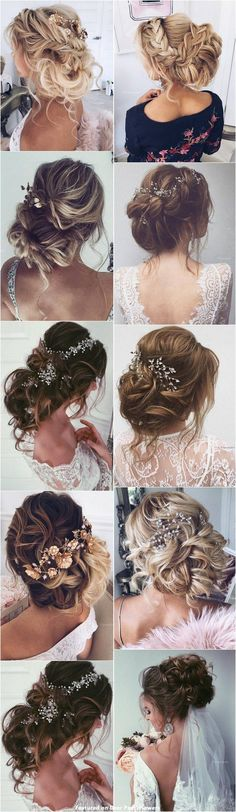65 New Romantic Long Bridal Wedding Hairstyles to Try / Ulyana Aster www.ulyanaa