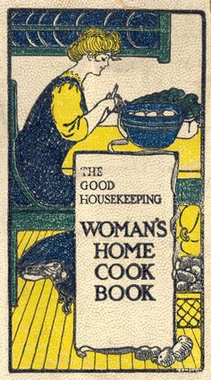 The Good Housekeeping Woman's Home Cook Book Arranged By Isabel Gordon Curtis.  Chicago: Reilly & Britton, c1909.  Toward the end of the 19th century and throughout the 20th various forms of media - newspapers, magazines, radio, the movies and TV -all became involved in the publishing of cookbooks. This volume represents the many and diverse types of books in this category. It well represents a cookbook published by a national magazine.