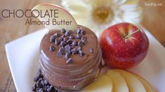 Healthy Chocolate Almond Nut Butter ♡