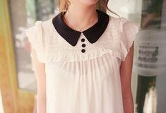 a string of purls: Fall obsession: Peter Pan Collar