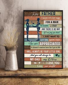 Perfect Gifts To My Husband Poster Great Gifts For Wife, Perfect Gift For Dad, Love Gifts, Daughter Necklace, Love Necklace, How Far I Go, Dad Rocks, Leather Notebook, Gsm Paper