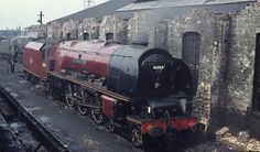 46254 City of Stoke on Trent Diesel Locomotive, Steam Locomotive, Train Car, Train Tracks, Steam Trains Uk, Steam Railway, Abandoned Train, Train Times, Train Pictures