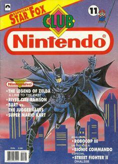 Club Nintendo Año 02 Nº 11 Batman Julio 1993 Español Chile
