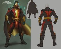 Shazam Regime Outfit In Injustice
