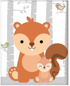 Woodland Animals Theme, Woodland Baby, Woodland Creatures, Woodland Nursery, Nursery Prints, Nursery Art, Baby Frame, Baby Art, Baby Kind