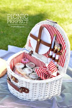 Picnic Perfect - great picnic ideas, recipes and tips!